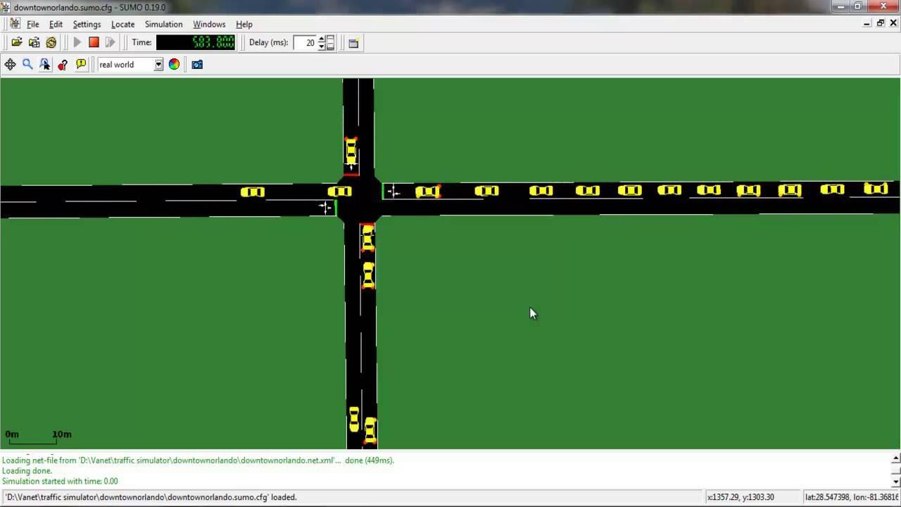 Network traffic simulation