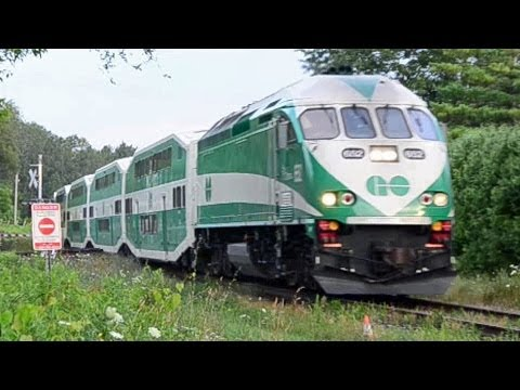 Barrie to Toronto GO Trains