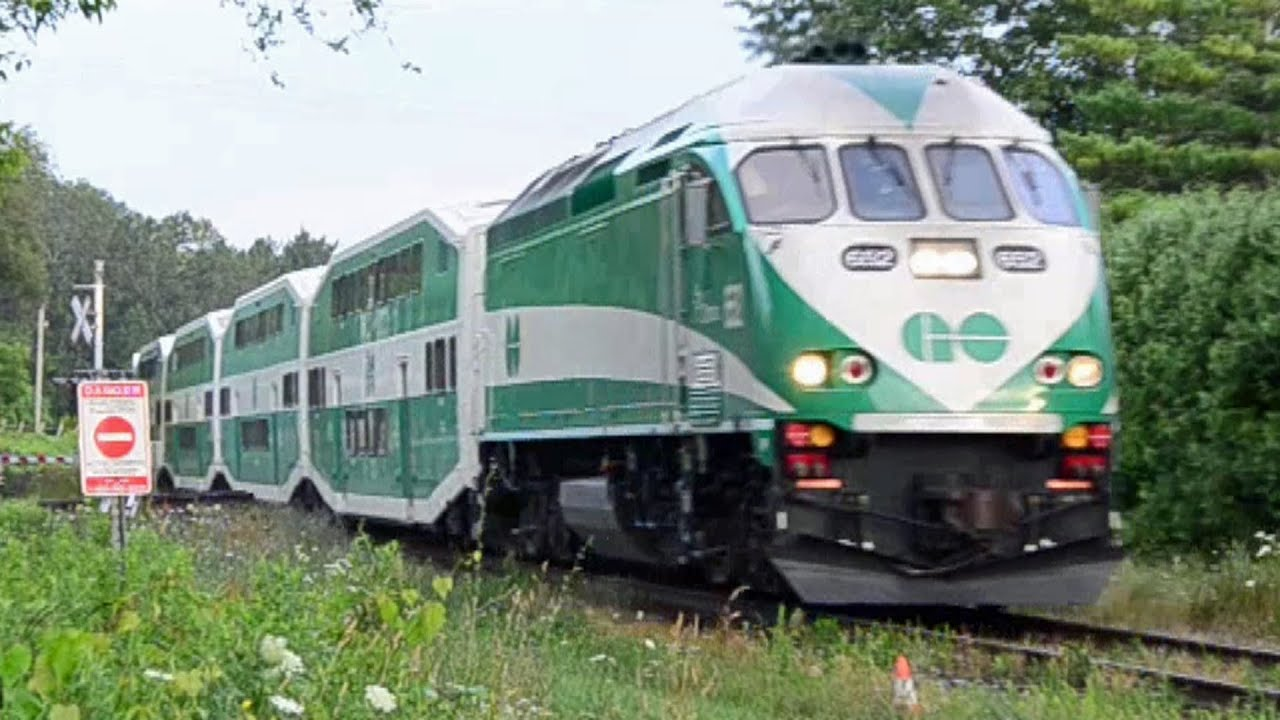 Barrie To Toronto Go Trains - Youtube-5929