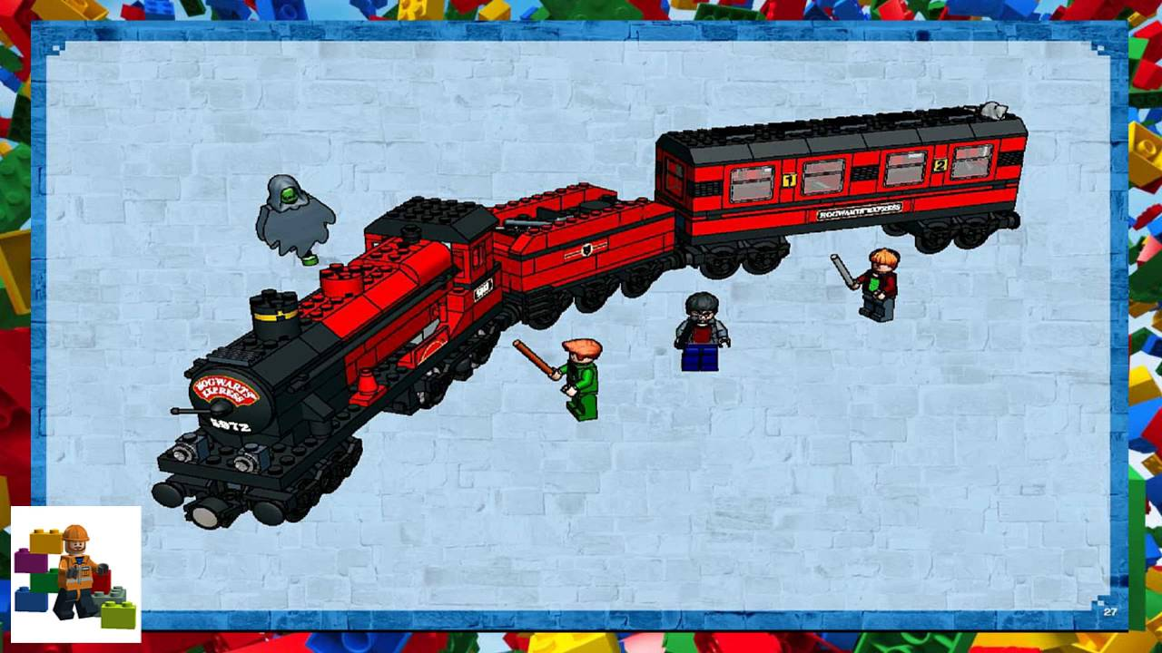 Lego Instructions Harry Potter 10132 Motorised Hogwarts