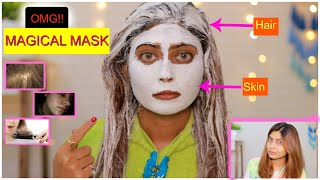 Try This Magical Mask For Hair And Skin And See The Magic Instant Result 100