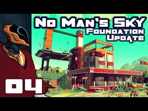 Let's Play No Man's Sky Foundation Update 1.1 - PC Gameplay Part 4 - Window Shopping