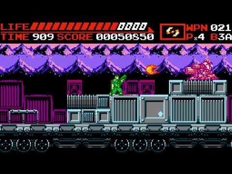 Alien Splatter Redux: An Enjoyable NES – ish side scrolling shooter