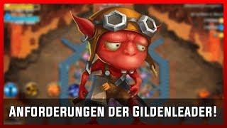 Anforderungen der Gildenleader! | Castle Clash [Deutsch]