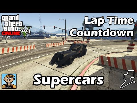 Download Youtube: Fastest Supercars (2018) - GTA 5 Best Fully Upgraded Cars Lap Time Countdown