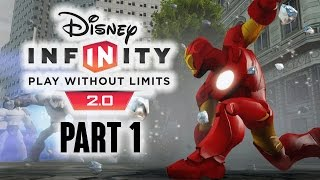 Disney Infinity 2.0 Gameplay Walkthrough Part 1 - IRONMAN - Let