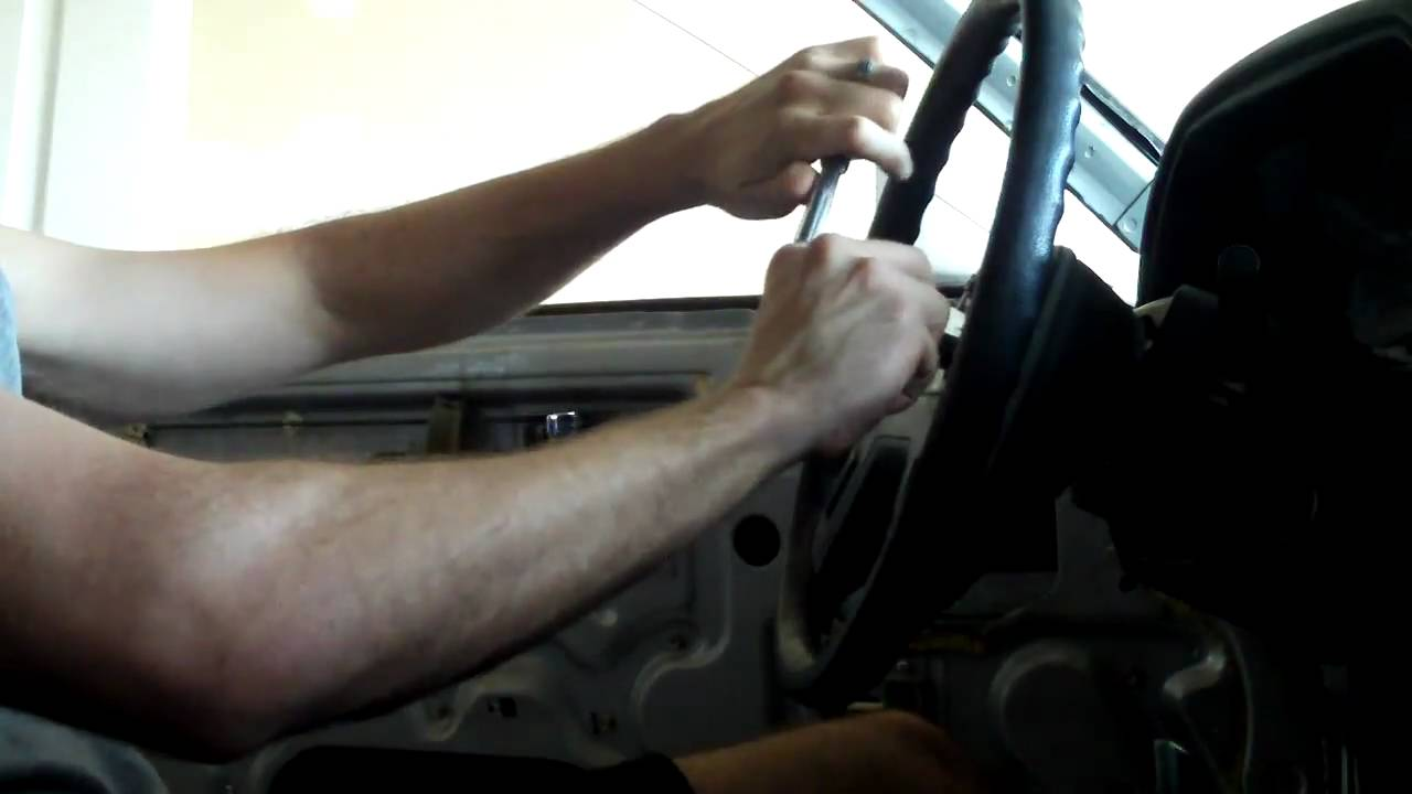 how to remove steering wheel without puller