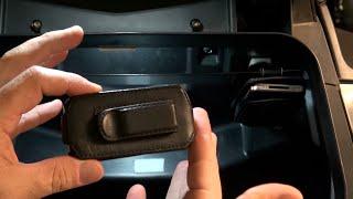 Top bar MP3 player Can Am Spyder RT Accessories Rear Trunk