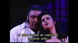Acto III - Duo Floria Tosca Y Mario Cavaradossi y final de acto - Judith Borràs, Carlos Moreno