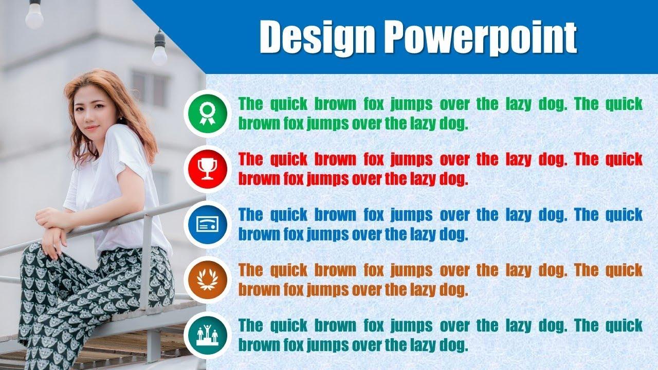 Design Powerpoint - Thiết kế mẫu mục lục chuyên nghiệp
