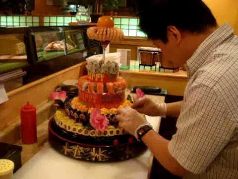 kyoto hernando sushi birthday cake YouTube