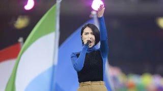 Gambar cover 《乘夢飛翔》IAAF世锦赛主題歌--譚維維Tan WeiWei ,沙寶亮