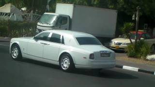 Rolls Royce Phantom from the Burj Al Arab