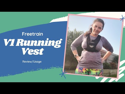 FreeTrain V1 Running Vest Review | Best Running / Exercise Phone Holder | Laura: Fat to Fit