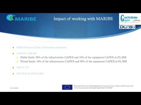 Maribe Project - Grand Port Maritime de Guyane Presentation