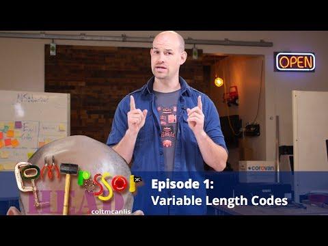 Variable Length Codes (Ep 1, Compressor Head)