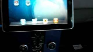 Apple Ipad on My Volvo C30