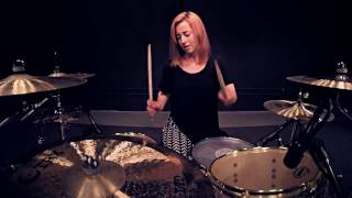 Lindsey Raye Ward - The Chainsmokers - Closer-Shaun Frank Remix (Drum Cover)