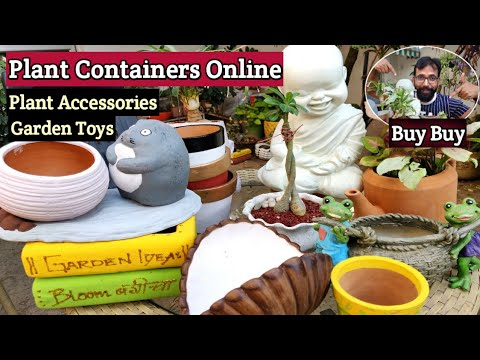 Plant Containers Buy Flower Pots Planters Online At Best Prices In India Youtube