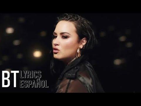 Demi Lovato - Commander In Chief (Lyrics + Español) Video Official
