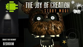 The Joy Of Creation Story Mode android and download link | Bedroom