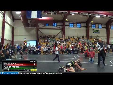 Middle School 97 Boden White Pueblo County Wrestling Club Vs Tanner Atencio Bear Cave
