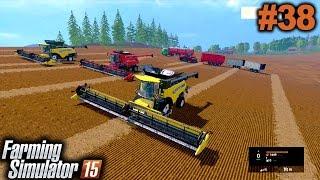 FARMING SIMULATOR 2015: Hora de colher a super plantação [XBOX 360] #Parte 38.
