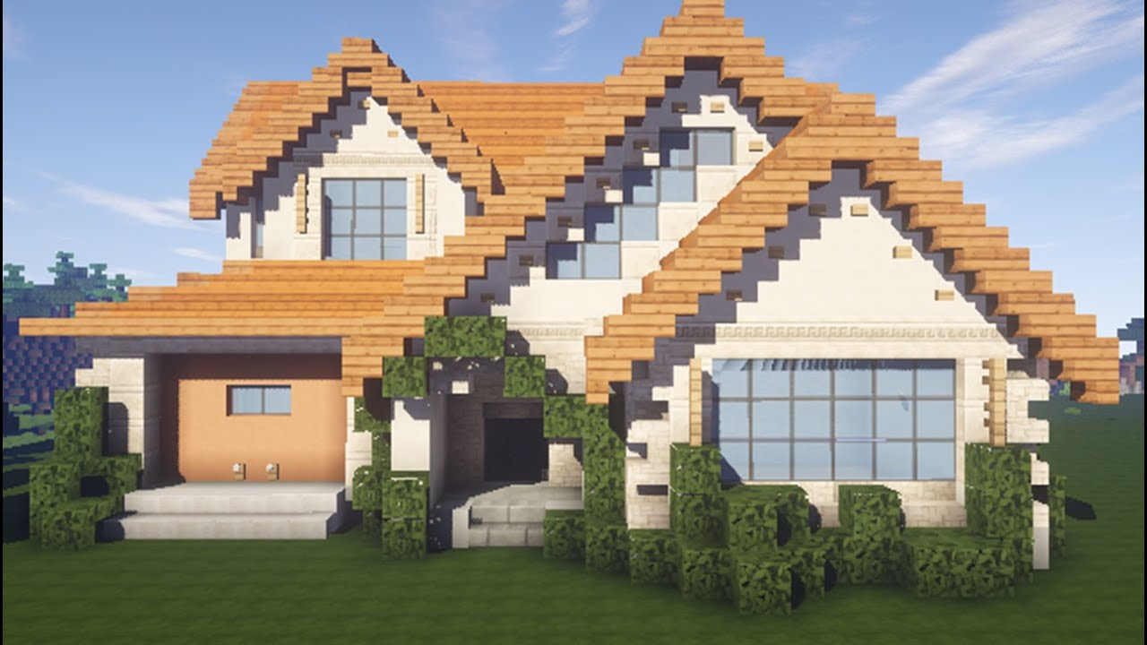 Майнкрафт как сделать дом мечты