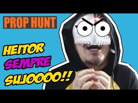 HEITOR SEMPRE ROUBANDO!!!! - Gmod Prop Hunt