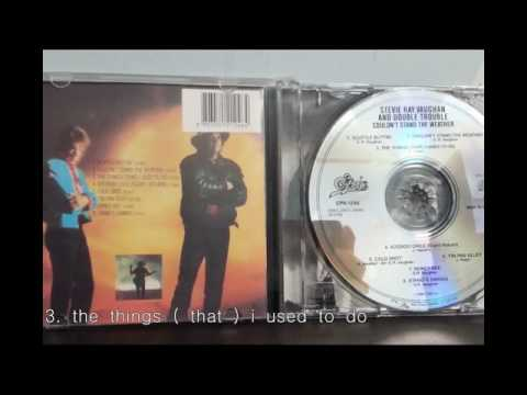 Stevie Ray Vaughan: Couldnt stand the weather   full album