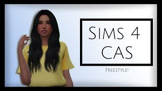 The Sims 4 || Let's Make a Sim! || Part 2 || Freestyle CAS!