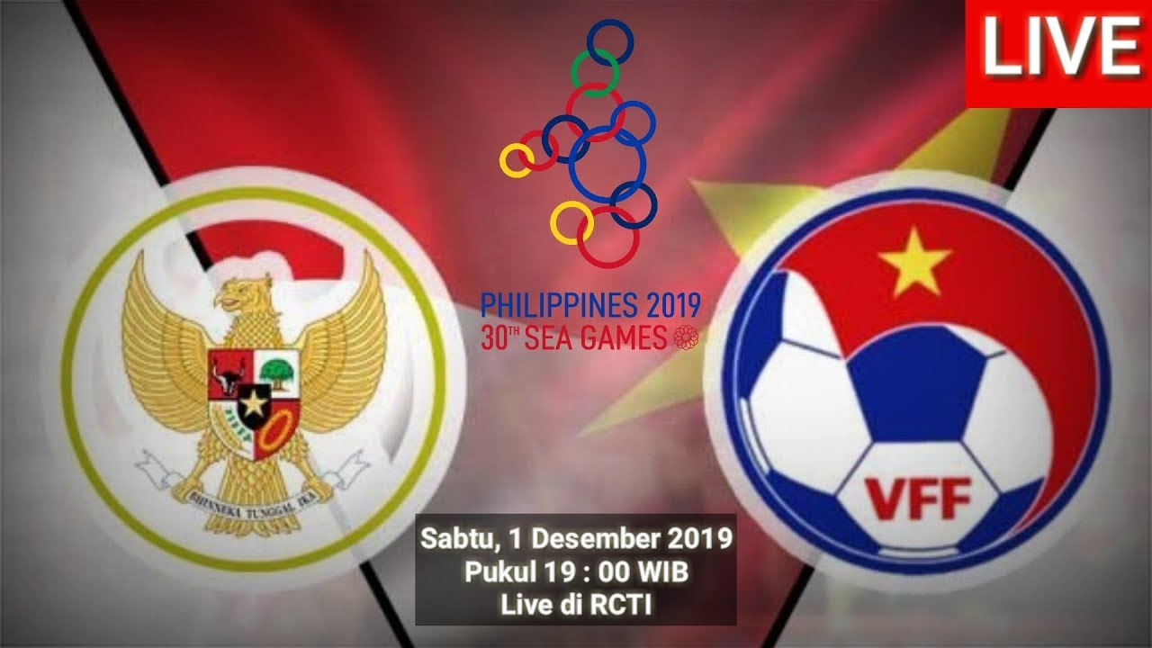 Indonesia Vs Vietnam Sea Games Filipina 2019 Football