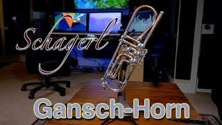 """Schagerl """"GANSCH-HORN"""" Hoersdorf Heavy Bb Trumpet REVIEW - HD 1080p"""