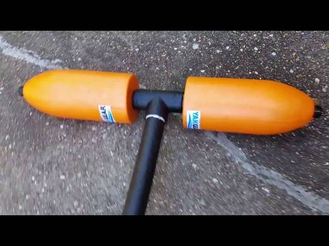 Williams Heritage 10 kayak setup