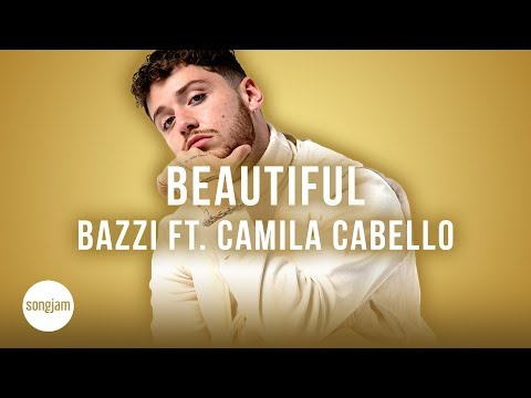 Bazzi - Beautiful ft. Camilla Cabello (Official Karaoke Instrumental) | SongJam