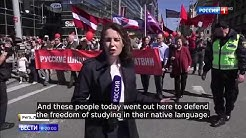 EU VALUES? Latvia Bans Russian Schools And Triggers The Biggest Protests In The Last 15 Years