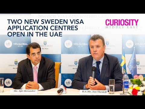 Two New Sweden Visa Application Centres open in the UAE