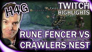 FFXI in 2017 - Rune Fencer vs. Crawler's Nest! - Twitch Highlights