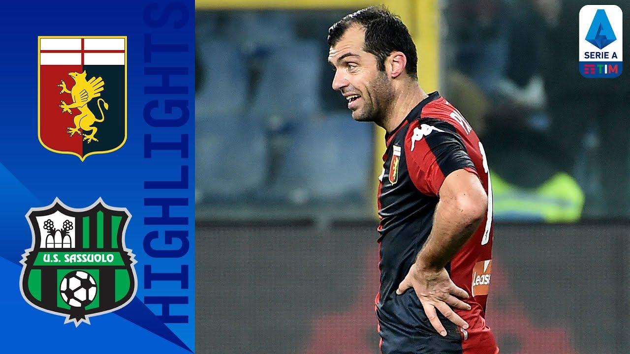 Genoa 2-1 Sassuolo   Pandev Scores Late Winner!   Serie A TIM