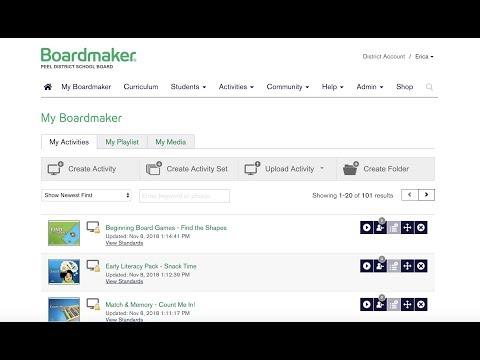 Intro To Boardmaker Online
