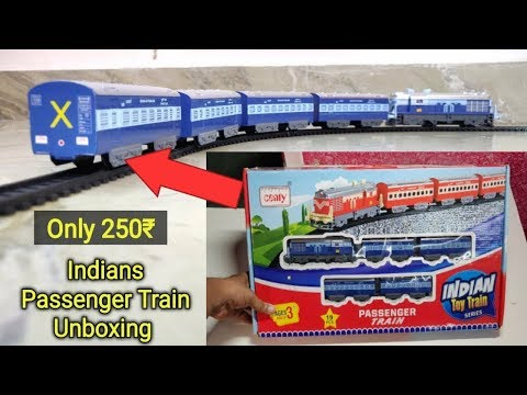 Centy Toys Indian Passenger Train Set Unboxing And Review, Price Dabbagul Toy In Hindi