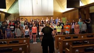 Columbus International Childrens Choir Practice Singet Dem Herrn