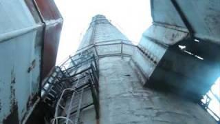 Wejście na komin 150m start Tomaszów Mazowiecki