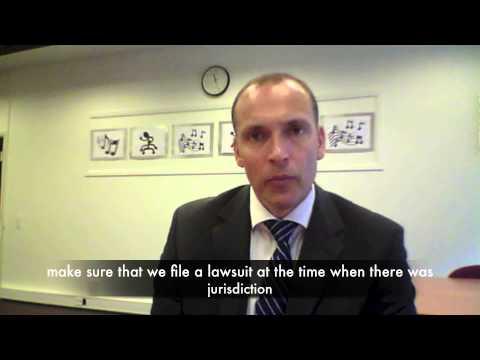 ALTERNATIVES TO US LITIGATION - Third Case from Thomas Thorup