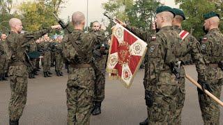 27 września 2019 r. uroczystą przysięgę wojskową złożyli kandydaci ...