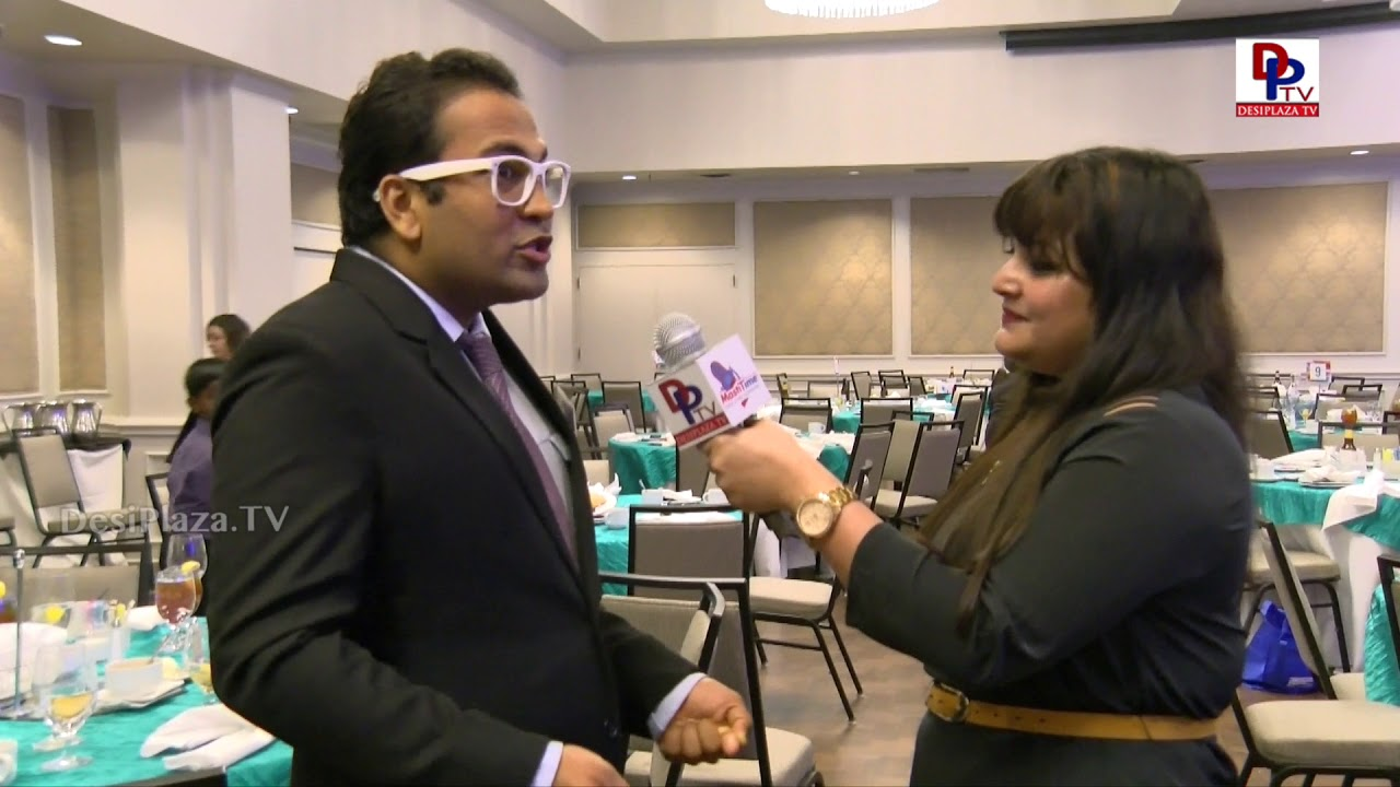 Akash Patel Finalist at  Immigrants Journey Awards speaks to DesiplazaTV | #IJAwards2018