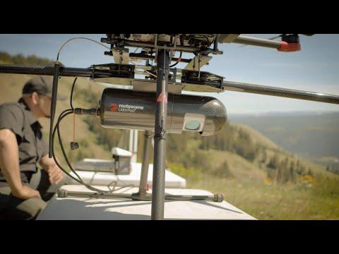 Routescene UAV LiDAR system