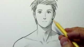 How to Draw the Neck & Shoulders (Male)