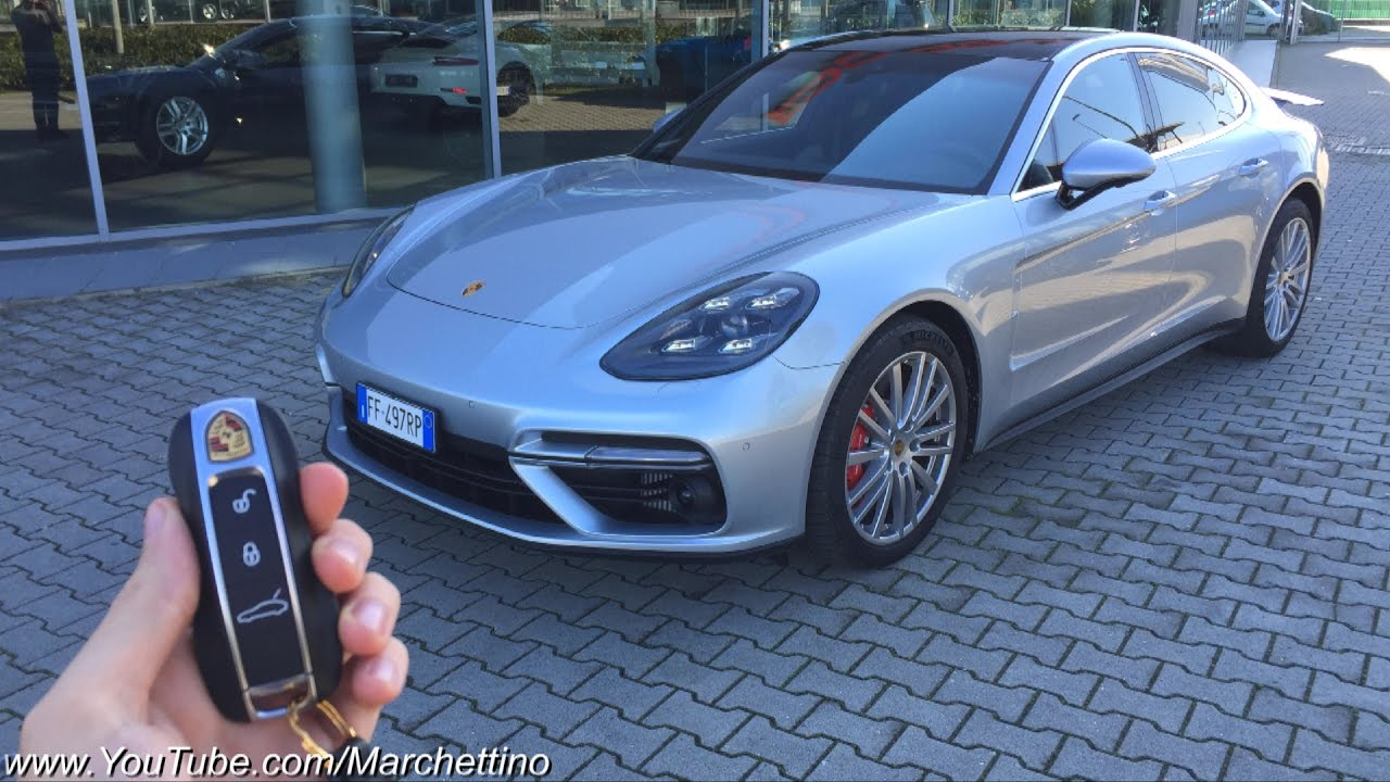 A Day w/ the 2017 Porsche Panamera Turbo - Road Test - YouTube