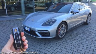 A Day w/ the 2017 Porsche Panamera Turbo - Road Test(Subscribe! http://bit.ly/SubscribeToMarchettino - I take the all new 2017 Porsche Panamera Turbo for a test drive in the beautiful roads of the tuscan countryside!, 2016-11-26T16:00:00.000Z)